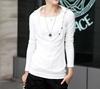Picture of Fake 2 pcs slim shirt