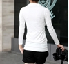 Picture of Fake 2 pcs slim shirt