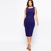 Picture of Deep V Back European Style Party Dress with belt