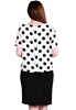 Picture of Europen Plus Size Front split Office Skirt