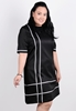 Picture of Korean Style Short Sleeve Office Dress