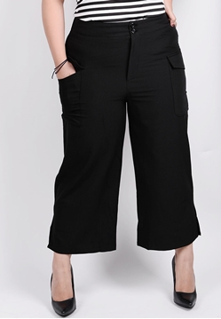 Picture of Wide Leg Pants with Pockets