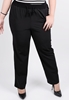 Picture of Womens Drawstring Plus Size Pants