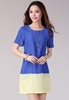 Picture of Summer Korean short sleeve chiffon dress