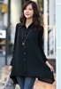 Picture of S1319 Irregular Bottom Middle Long Shirt