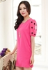 Picture of Dot Sleeve Round Sleeve Dress