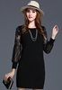 Picture of Transparent Long Sleeve Dress