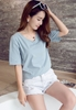 Picture of V Neck Short Sleeve Plus Size Tee