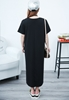 Picture of Side Split Long Cotton Dress