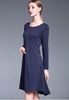 Picture of Summer Long Sleeve Flare Dress