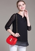 Picture of ¾ Sleeve Chiffon Top