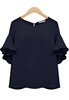 Picture of Fly Sleeve Chiffon Top