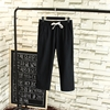 Picture of Waist String Linen 3Q Pants