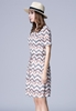 Picture of Wave Prints Dress