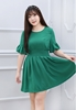 Picture of Lotus Leaf sleeve Chiffon Dress