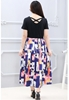 Picture of Short Sleeve Prints Dress