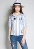 Picture of Embroidery Stripe Shirt