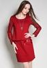 Picture of Front Ribbon Fake 2pcs Dress