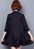 Picture of Lace Decorated 3/4 Sleeve A line Blouse