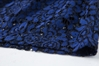 Picture of Transparent Shoulder Blue Lace Dress