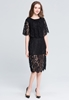 Picture of Cape Style Lace Dress