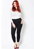 Picture of Elastic Waist Slim Fit Pants