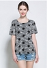Picture of Knitted Short Sleeve Star Tee