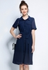 Picture of Short Sleeve Chiffon Shirt Dress
