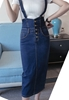 Picture of Long Strap Denim Dress