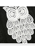 Picture of Owl Lace Top
