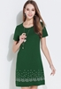 Picture of Embroidery A Line OL Dress