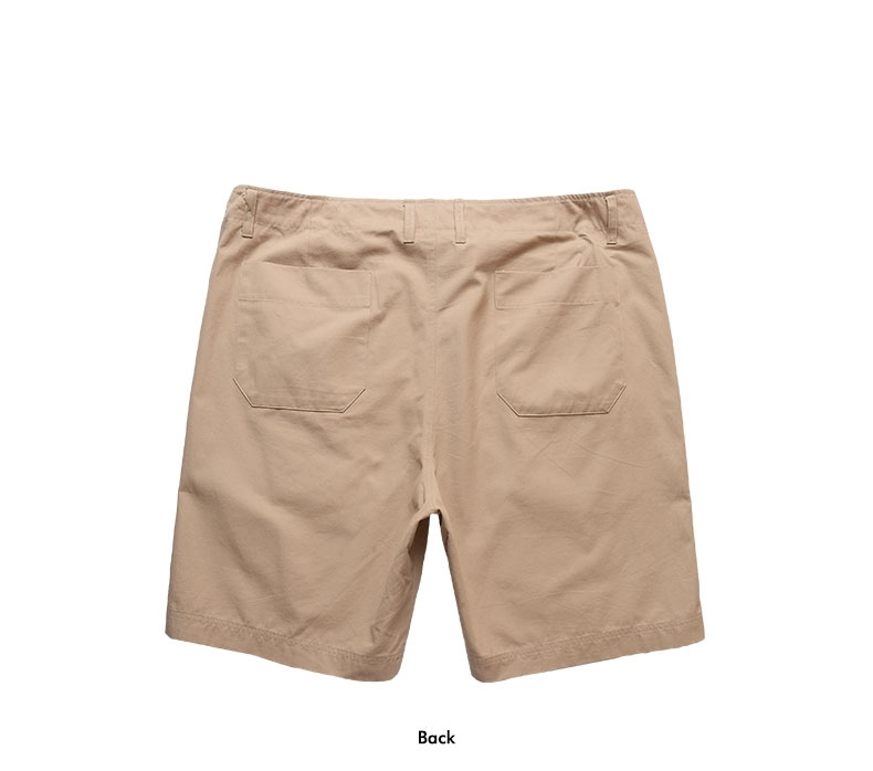 Picture of Front Pockets Mens Plus Size Shorts