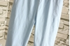 Picture of Solid Color Waist String 3/4 Pants