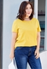 Picture of Basic Plus Size Short Sleeve T Shirt
