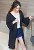 Picture of Horn Sleeve Long Plus Size Cardigan