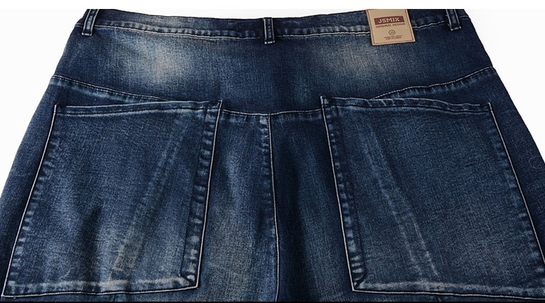 Picture of Straight Cut Plus Size Mens Jeans