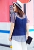 Picture of Fly Sleeve 2pcs Silk Plus Size Blouse