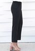 Picture of Front Cut Plus Size Slim Leg OL Pants