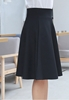 Picture of Plus Size Elastic Waist Midi Skirt