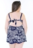 Picture of 2 Pcs Plus Size Swimsuit
