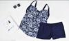 Picture of Floral 2 pcs Plus Size Swimwear