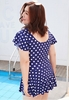 Picture of Polka Dot Plus Size Swimwear