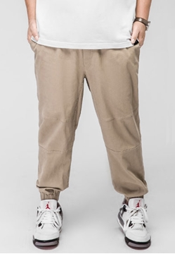 Picture of Mens Plus Size Khaki Jogger Pants
