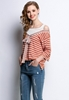 Picture of Stripe Loose Knitted Top