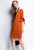 Picture of Two-way wear 3/4 Sleeve Dress