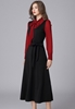 Picture of Bow Front Elegant Long Dress