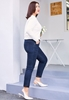 Picture of Lace Bottom Slim Ladies Jeans
