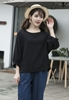 Picture of 3/4 Sleeve Cotton Blouse