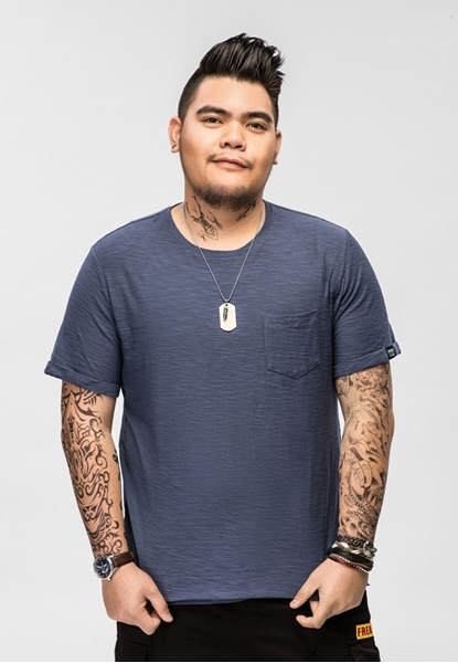 Picture of Front Pocket Plus Size Men's Tee