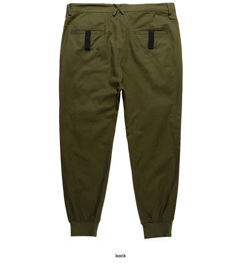 Picture of Ribbon Decorated Plus Size Jogger Pants